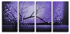 Winter Solstice 4 Piece Canvas Art Set