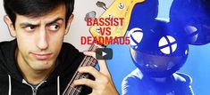This Bass Player Proves Deadmau5 Wrong By Shredding Bassline Live. What happens when Deadmau5 says a bassline from a remix he's listening to is impossible to play? Davie504 steps up to the challenge and gives the riff a thorough shredding.