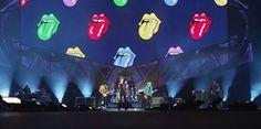 The Stones performing Tumbling Dice in Tel Aviv