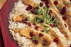 Chicken Tenderloins with Cranberry Mustard Sauce - Easy to prepare with great presentation, this delicious chicken dish is perfect for fall family suppers or entertaining. Sauce Recipes, Great Recipes, Cooking Recipes, Favorite Recipes, Dinner Recipes, Dinner Ideas, Cranberry Chicken, Cranberry Recipes, Cranberry Sauce
