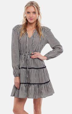Rhythm Check Dress - Frendz & Co. - 1