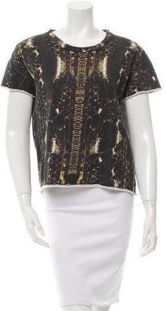 Iro Digital Print Cropped Sweatshirt Hoodies, Sweatshirts, Digital Prints, Stylish, Blouse, Lace, Tops, Women, Fashion