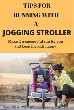 Tips for Using a Jogging Stroller. Make your run a productive one while keeping the kids happy in the stroller. These are the best tips for a safe and successful run with using a jogging stroller.