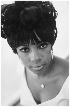 Mary Williams of the Supremes 1966