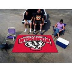"""Wisconsin Badgers Tailgating Ulti-Mat 60""""x96"""""""
