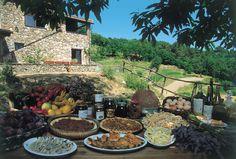Prodotti e piatti tipici della Liguria © Enrico Bottino