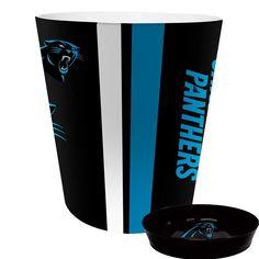 Carolina Panthers NFL Waste Basket with Soap Dish