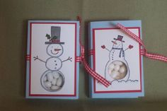Snowman Kisses Tic Tac Holder by - Cards and Paper Crafts at Splitcoaststampers Snowman, Paper Crafts, Tic Tac, Holiday Decor, Kisses, Frame, Blog, Christmas, Fun