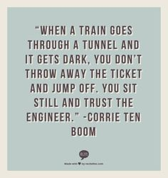 corrie ten boom quote | game changers: our fave homeschool resources | the handmade home