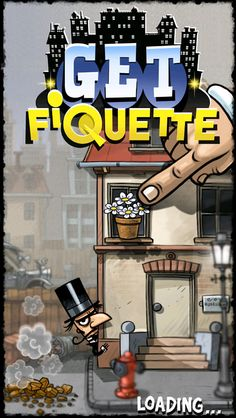 Get_Fiquette on App Store:   Mr Fiquette Master Gentleman Thief has busted out of jail and has set his sights on the good citizens of Bootleg City. Come join the fun of stopping Mr. Fiquette by dropping objects onto his head before he reaches his Hot Air Balloon and gets away. From the dusty sketchpad of a grumpy ex-...  Developer: Ross Mcrae  Download at http://ift.tt/1HTJovX