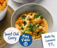 Philadelphia sweet chilli chicken curry