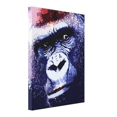 >>>Order          	Gorilla Face Pop Art Wrapped Canvas Canvas Prints           	Gorilla Face Pop Art Wrapped Canvas Canvas Prints We have the best promotion for you and if you are interested in the related item or need more information reviews from the x customer who are own of them before pleas...Cleck Hot Deals >>> http://www.zazzle.com/gorilla_face_pop_art_wrapped_canvas_canvas_prints-192480811328708029?rf=238627982471231924&zbar=1&tc=terrest