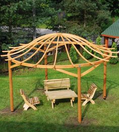 1000 images about pergolas en bois on pinterest. Black Bedroom Furniture Sets. Home Design Ideas