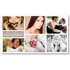 Six Pics Photo Business Card by kellyannt