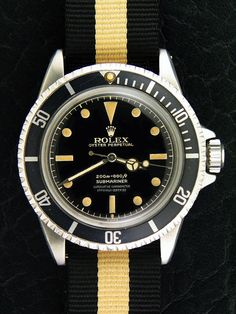 another Rolex with a NATO strap