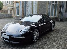 PORSCHE 911 CARRERA S 3.8 BLACK