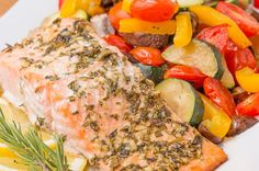Make Dinner In 30 Minutes With This One-Pan Lemon Herb Salmon
