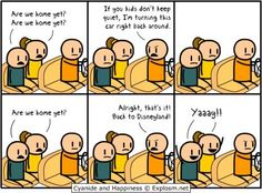Cyanide and Happiness comic strip. Maybe I should try this...