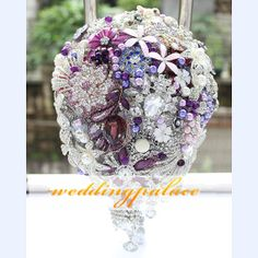 Free ShippingBridal custom bouquetsEuropean by WeddingPalace, $389.00