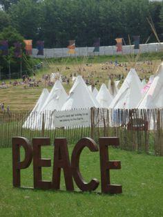 Glastonbury Festival, someday.