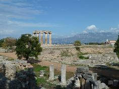 #greek #ruins, the glorious city of Korinth.
