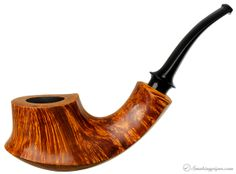 Peter Heding Smooth Volcano (Gold) Pipes at Smoking Pipes .com