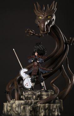 ArtStation - Madara Uchiha Mokoton no Jutsu statue, Jem Gonzales Figurines D'action, Anime Figurines, Madara Uchiha, Boruto, Gaara, 3d Figures, Action Figures, Action Figure Naruto, Edo Tensei