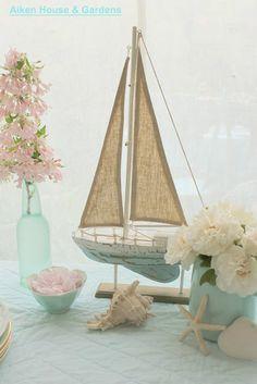Lovely Beach Vignette from Aiken House & Gardens