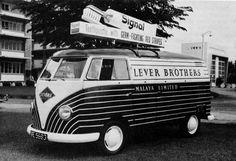 Lever Brothers' VW van by daviddb, via Flickr