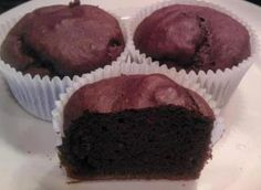Guilt free chocolate Vi~cupcakes:    1 cup vi-shape shake mix,  1/2 cup almond milk,  1 tsp baking powder,  1/4 cup cocoa powder,  1 tbs up to 1/4 cup sugar (optional).    Preheat oven to 350.  Whisk all ingredients together and pour into 6 muffin cups.   Bake 15 minutes.... YuMmErS♥!  www.lovethechallenge.myvi.net