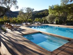 Ranch at Live Oak Malibu, CaliforniaThe all-activities-required format guarantees a private room in a plush ranch house in the Santa Monica Mountains. The only caveat is that you have to climb to get there!