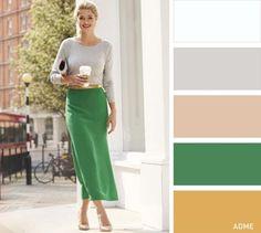 Перфектни комбинации от цветове за свежа визия