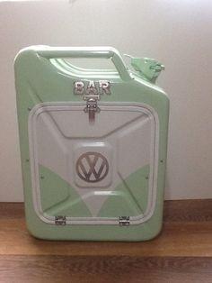"Jerry can mini bar, ""The VW one!"" man cave, christmas, birthday. | eBay"