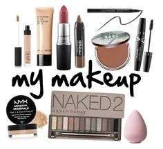 """""""Untitled #76"""" by kate-ranck ❤ liked on Polyvore featuring beauty, NARS Cosmetics, Bobbi Brown Cosmetics, MAC Cosmetics, Urban Decay, Maybelline, NYX and Sephora Collection"""