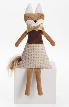 Woof & Poof 'Winter Fox -  Boy' Decoration available at #Nordstrom