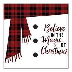 Wrought Studio 'Believe in the Magic of Christmas' Textual Art on Canvas Christmas Paper Crafts, Christmas Signs Wood, Diy Christmas Cards, Christmas Art, Christmas Projects, Christmas Holidays, Christmas Decorations, Christmas Ideas, Christmas Cookies