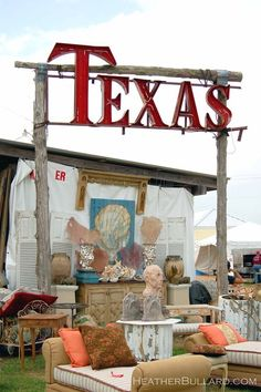 Round Top.....largest outdoor antique shops and flea market