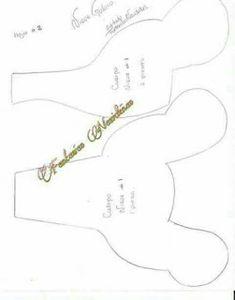Centro de mesa biscoito de natal em feltro com moldes para imprimir - Como Faço Christmas Projects, Christmas Holidays, Christmas Crafts, Christmas Ideas, Cute Halloween, Halloween Crafts, Make Tutorial, Felt Christmas Decorations, Felt Patterns