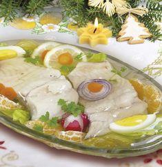 Karp w galarecie - Przepisy Siostry Anastazji Seafood Recipes, Cooking Recipes, Polish Recipes, Polish Food, 20 Min, Easter Recipes, Karp, Fresh Rolls, Good Food