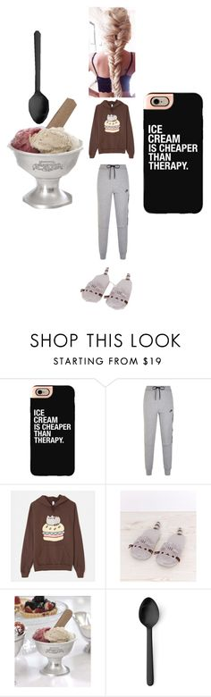 """""""Ugh"""" by megpuppoweris ❤ liked on Polyvore featuring interior, interiors, interior design, home, home decor, interior decorating, Casetify, NIKE, Pusheen and We The Free"""