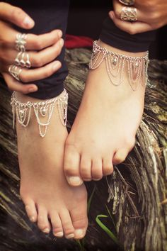 treeoflife: multi-chain anklet $7