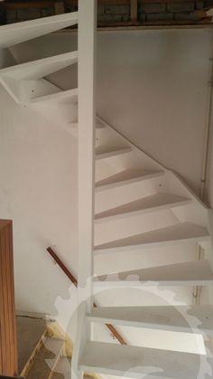 Vlizo trap vervangen door een vaste trap - De Kruijf Trappen