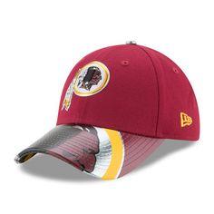 Women s New Era Burgundy Washington Redskins 2017 NFL Draft On Stage 9FORTY  Adjustable Hat 1b97c6eed