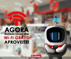 """Wi-fe Grátis"" - Cliente: Fujioka / Agencia Bamboo"