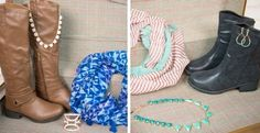 Grab bag of boots, scarf + accessories just $24.99