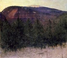 Winter Sunrise, Monadnock, Abbott Thayer by Painter's Reference, via Flickr