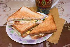 Яичные сэндвичи