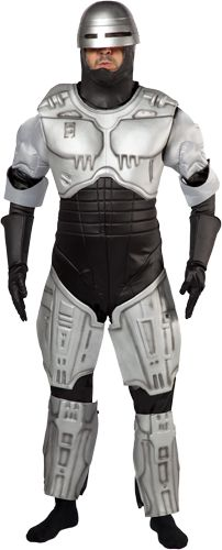 I wonder if this Robocop costume comes with that sweet, totally accurate mustache.