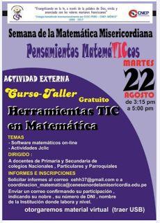 TIC en IE.5136 Fernando Belaúnde Terry - Callao: Herramientas TIC en Matemática - invitación a curs...