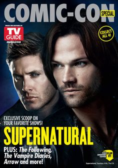 Supernatural Cover for 2014 Special Comic Con Issue of TV Guide